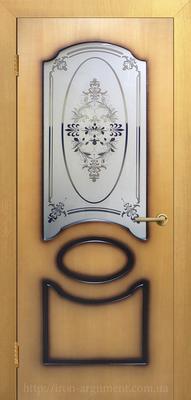 межкомнатные двери Виктория СС в цвете миланский орех ТМ ОМИС