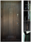 двери входные ПРЕМИУМ, цвет: тиковое дерево, модель двери: Б-263