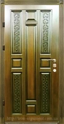 двери ПАТИНА входные наружные с пленкой Vinorit-02, модель БП-21
