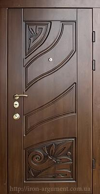 двери ПАТИНА входные наружные с пленкой Vinorit-37, модель двери БП-4