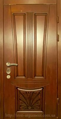 двери ПАТИНА входные наружные с пленкой Vinorit-02, модель БП-3