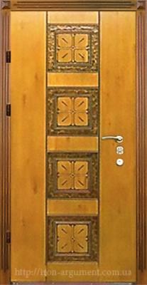 двери ПАТИНА входные наружные с пленкой Vinorit-90, модель БП-2