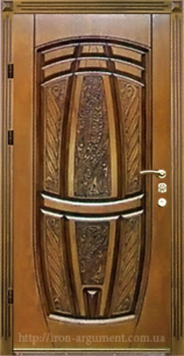 двери ПАТИНА входные наружные с пленкой Vinorit-90, модель БП-15