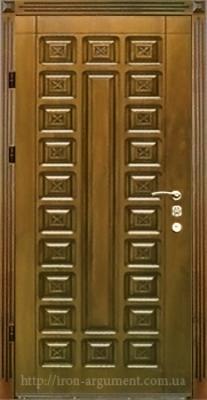 двери ПАТИНА входные наружные с пленкой Vinorit-90, модель БП-22