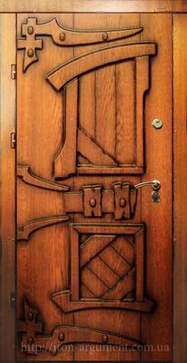входные двери наружные КАНТРИ в цвете Vinorit-90, модель СД 4