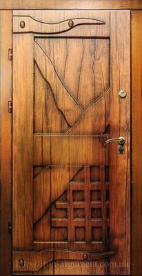 входные двери наружные КАНТРИ в цвете Vinorit-90, модель СД 6