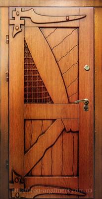 входные двери наружные КАНТРИ в цвете Vinorit-90, модель СД 8