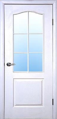 межкомнатные двери ТМ Новый Стиль, модель двери: СИМПЛИ В со стеклом