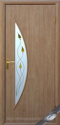 межкомнатные двери ТМ Новый Стиль, модель двери: ЛУНА ПО +Р1