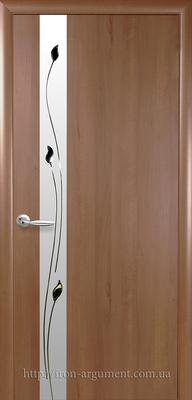 межкомнатные двери ТМ Новый Стиль, модель двери: ЗЛАТА Р1 ПВХ Deluxe