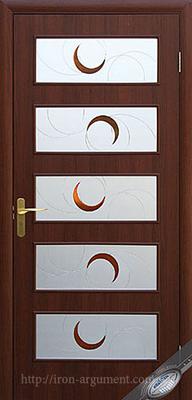 межкомнатные двери ТМ Новый Стиль, модель двери: ЕВА ПО +Р1