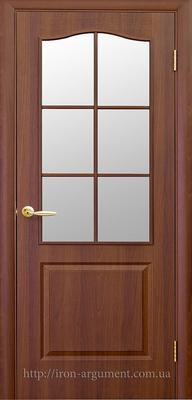 межкомнатные двери ТМ Новый Стиль, модель двери: ФОРТИС полустекло ПО