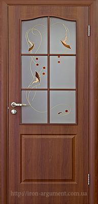 межкомнатные двери ТМ Новый Стиль, модель двери: ФОРТИС В ПВХ