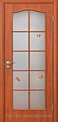 межкомнатные двери ТМ Новый Стиль, модель двери: ФОРТИС С витраж ПО