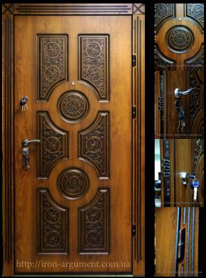 двери ПАТИНА входные наружные с пленкой Vinorit-90, модель БП-23