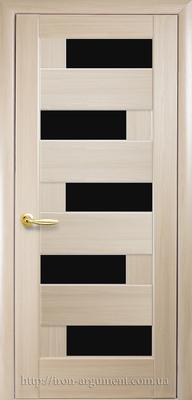 межкомнатные двери ТМ Новый Стиль, модель двери: ПИАНА BLK