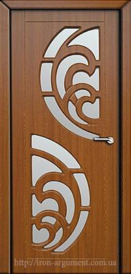 межкомнатные двери ПРИБОЙ со стеклом ТМ Неман,  дуб золотой
