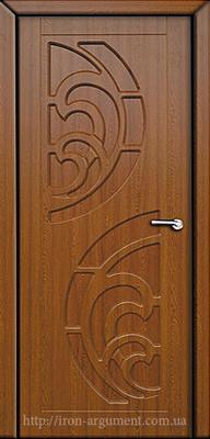 межкомнатные двери ПРИБОЙ глухие ТМ Неман, золотой дуб