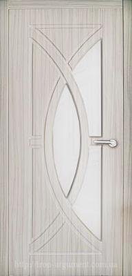 межкомнатные двери ФАНТАЗИЯ со стеклом ТМ Неман, береза