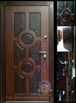 двери ПАТИНА входные наружные с пленкой Vinorit-37, модель БП-23