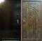 бронированные двери ЭЛИТ-ОФИС, цвет: дуб антик, модель: Б-196