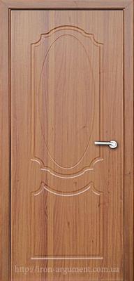 межкомнатные двери ЗЕРКАЛО глухие ТМ Неман,  светлый орех