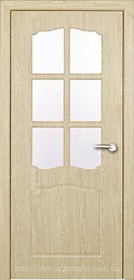межкомнатные двери КЛАССИК со стеклом ТМ Неман, ель карпатская