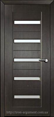 межкомнатные двери со стеклом ПЕРСЕЙ, цвет: венге темный