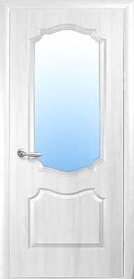межкомнатные двери ТМ Новый Стиль, модель двери: СИМПЛИ вензель со стеклом