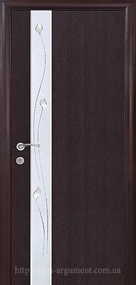 межкомнатные двери ТМ Новый Стиль, модель двери: ЗЛАТА ПО +Р1