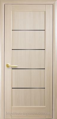 межкомнатные двери ТМ Новый Стиль, модель двери: МИРА BLK (черное слекло)