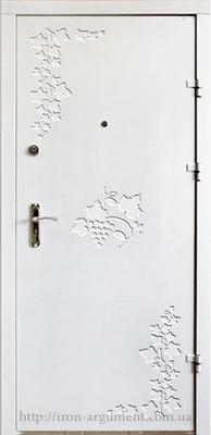 двери ЭЛИТ-ОФИС + декорированный наружный лист с декором № 6