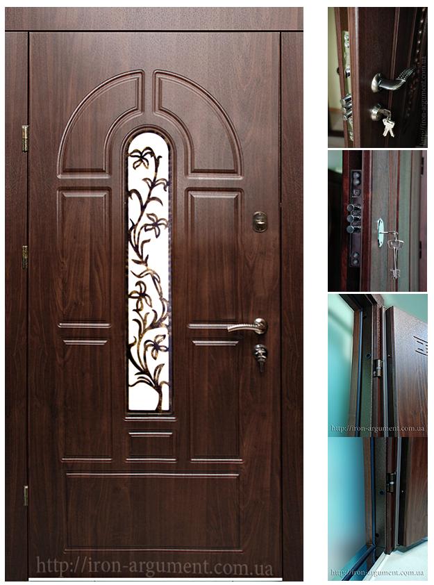 Фото входных пластиковых дверей в частные дома