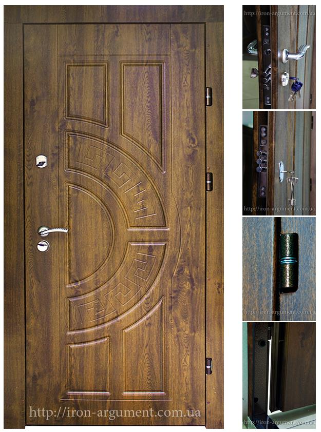 добротная входная металлическая дверь в квартиру