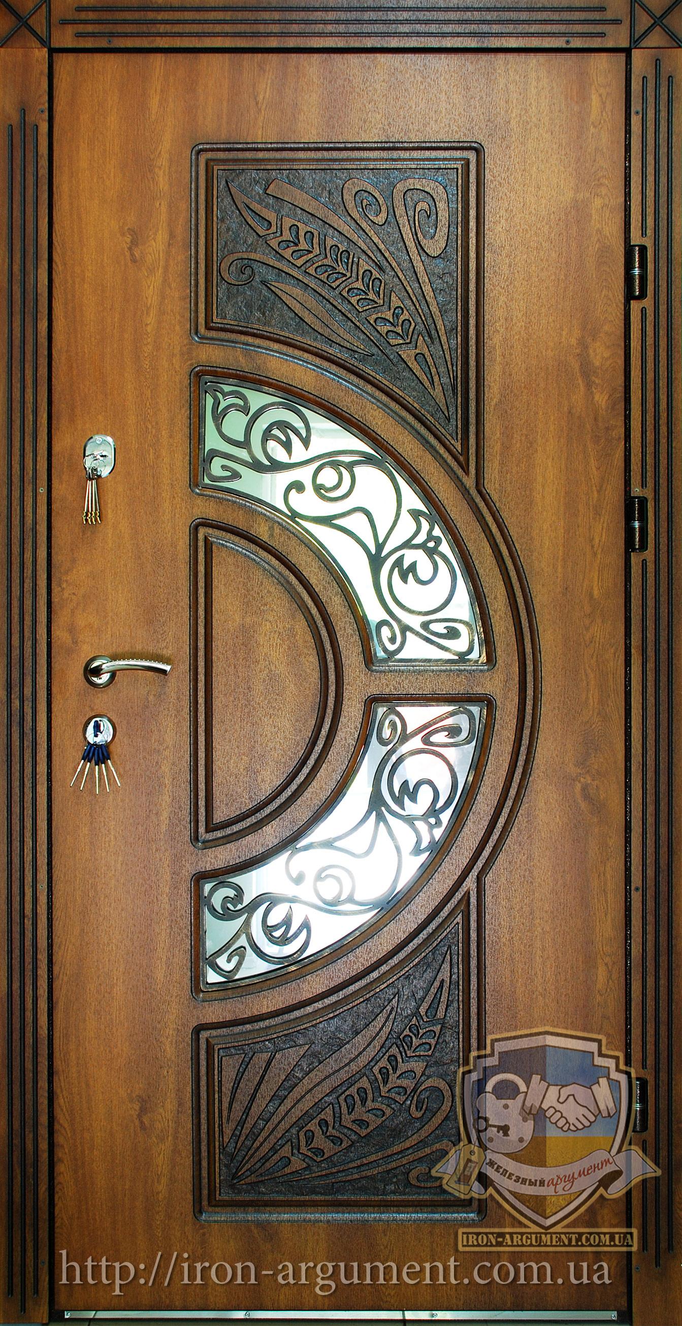 входные двери ковка патина