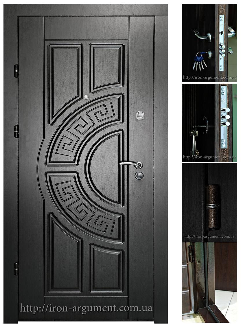 Темные цвета входных дверей