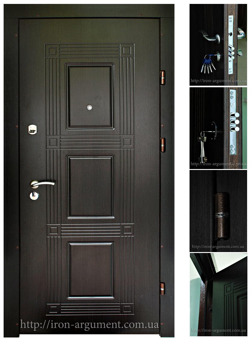 двери входные цвет венге