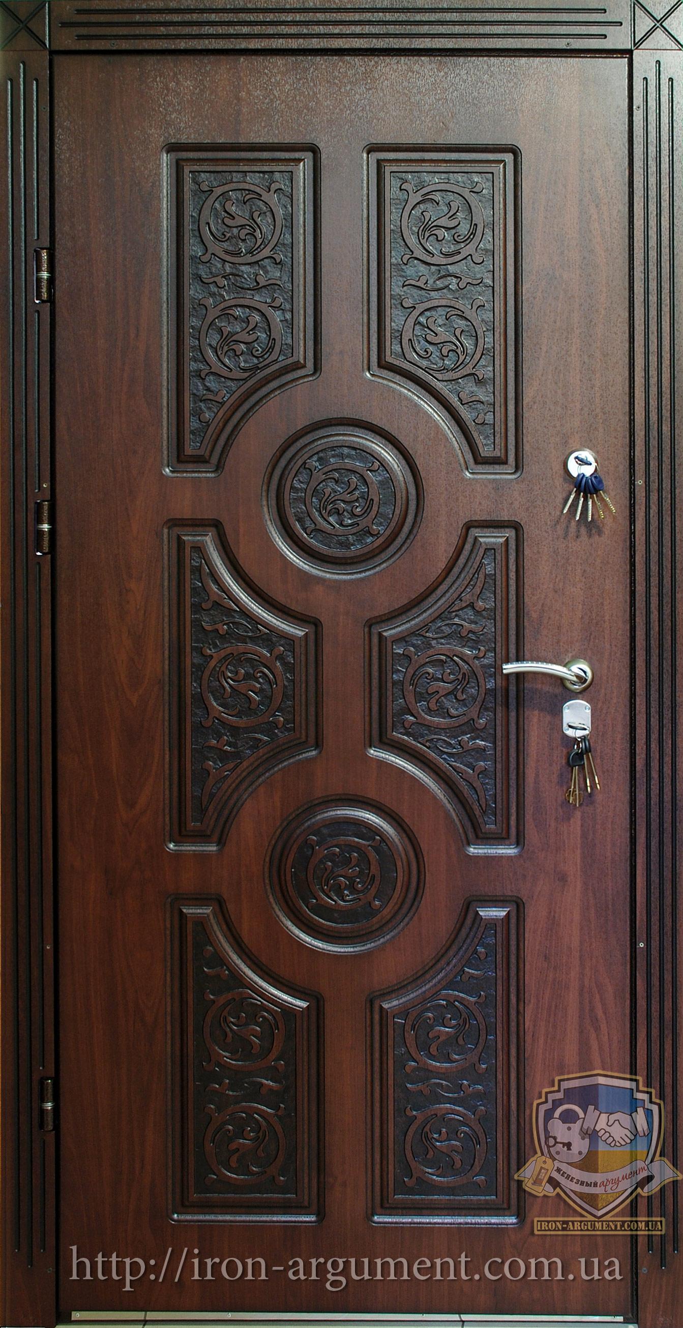 купить дверь входную уличную с кожзамом