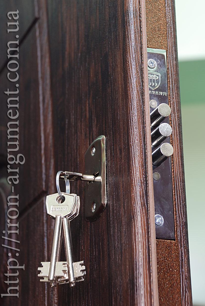 дверь во входном тамбуре в квартире